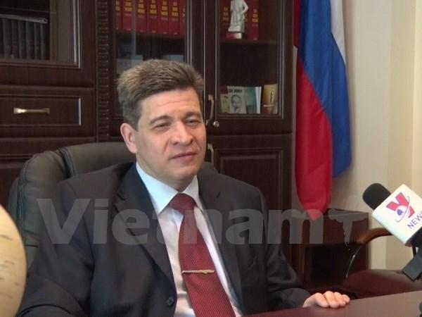Divulgacion de informaciones autenticas: fundamento para los lazos Vietnam- Rusia hinh anh 1