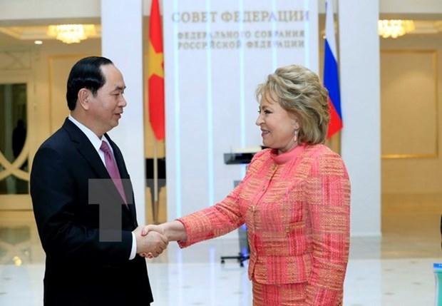 Cooperacion multifacetica con Rusia: especial prioridad de Vietnam hinh anh 1