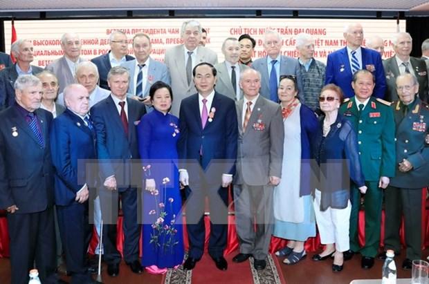 Consideran amistad Vietnam- Rusia como sosten para la asociacion estrategica integral hinh anh 1