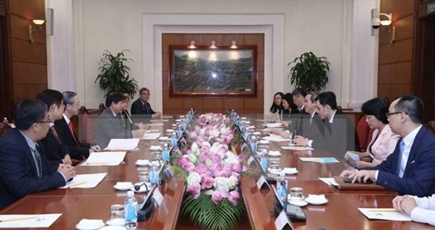 Partidos gobernantes de Vietnam y Singapur impulsan cooperacion hinh anh 1