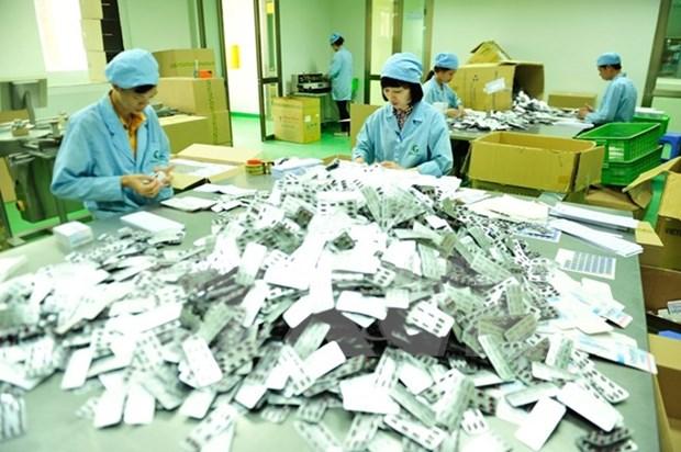 Debaten medidas para incentivar el desarrollo del sector farmaceutico de Vietnam hinh anh 1