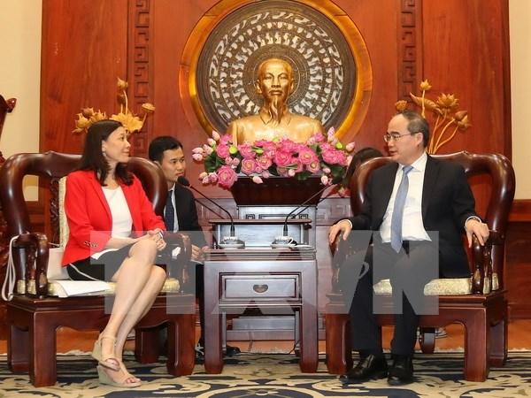 Ciudad Ho Chi Minh impulsa cooperacion con Intel en formacion de personal calificado hinh anh 1