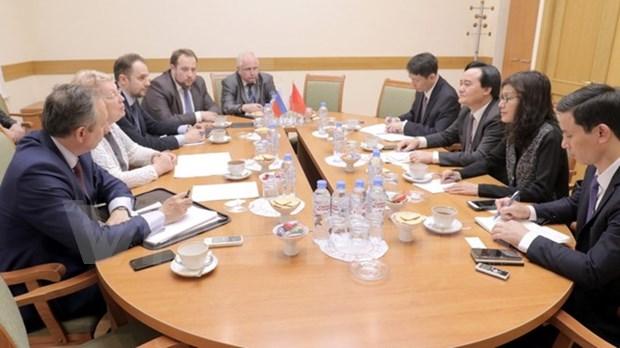 Sector educativo de Vietnam y Rusia fortaleceran cooperacion multifacetica hinh anh 1