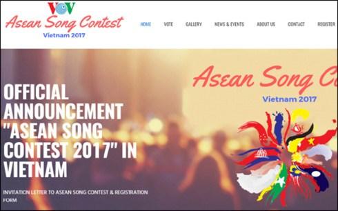 Promueve en Vietnam concurso de canto de la ASEAN 2017 hinh anh 1