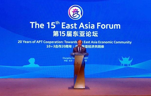 Vietnam copreside XV Foro de Asia Oriental en China hinh anh 1