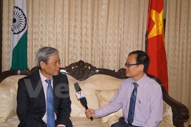 Vietnam desea profundizar asociacion estrategica integral con India hinh anh 1