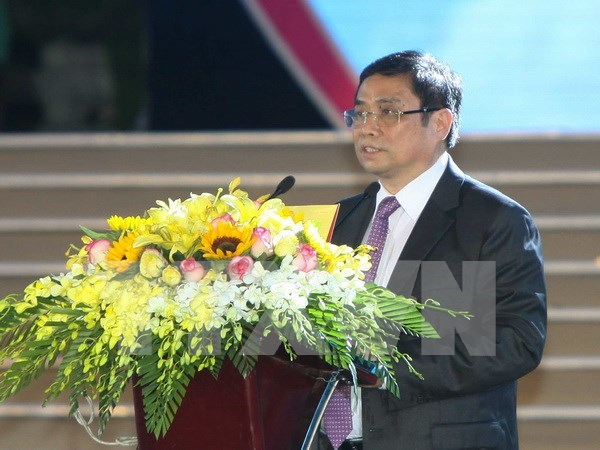 Embajada de China en Vietnam celebra aniversario 20 de devolucion de Hong Kong hinh anh 1