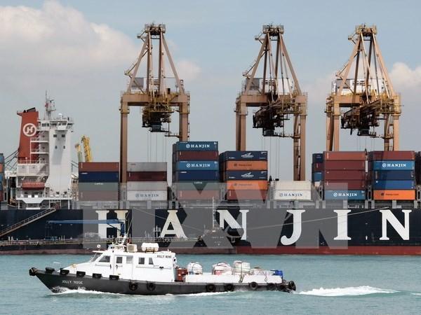 Puerto maritimo de Singapur es reconocido como el mejor de Asia hinh anh 1