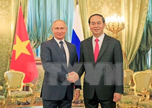 Vietnam y Rusia ratifican en declaracion conjunta voluntad de profundizar nexos hinh anh 1
