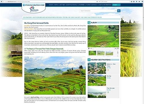 Sitio web de promocion turistica de Vietnam con nueva interfaz mas amigable hinh anh 1