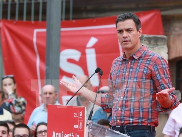 Vietnam felicita a Pedro Sanchez por su reeleccion como secretario general del PSOE hinh anh 1