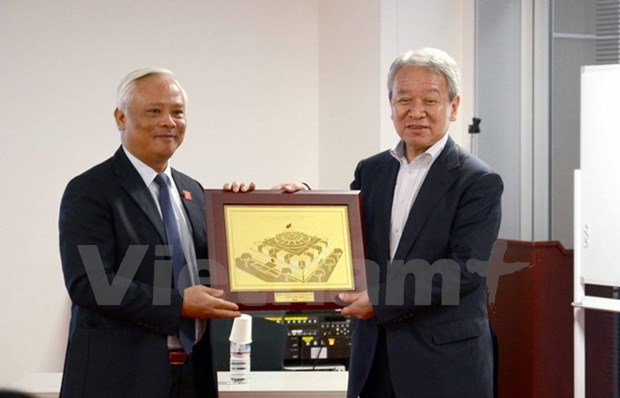 Vicepresidente del Parlamento vietnamita realiza visita a Japon hinh anh 1