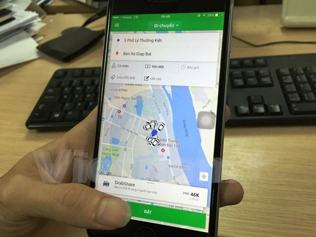 Ministerio de Transporte demanda detener servicios compartidos de Uber y Grab en Vietnam hinh anh 1