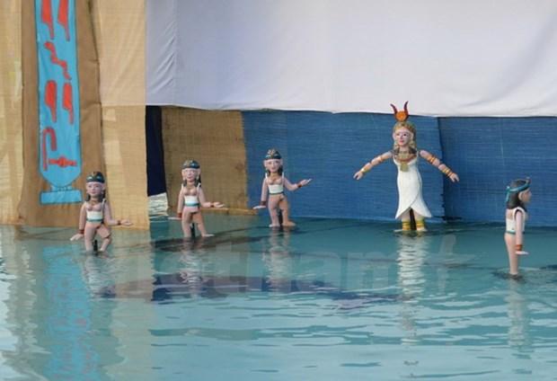 Escenifican en Vietnam obra inspirada en show de marionetas acuaticas hinh anh 1