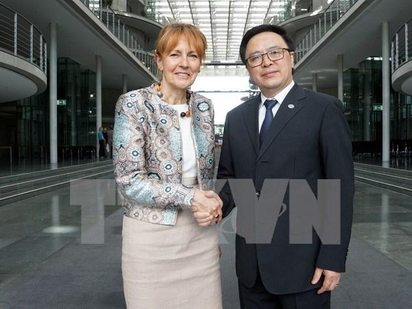 Realizan sexto dialogo entre PCV y Partido Socialdemocrata de Alemania hinh anh 1
