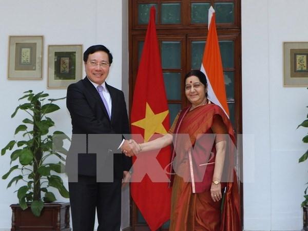 Vietnam y la India buscan profundizar vinculos multifaceticos hinh anh 1