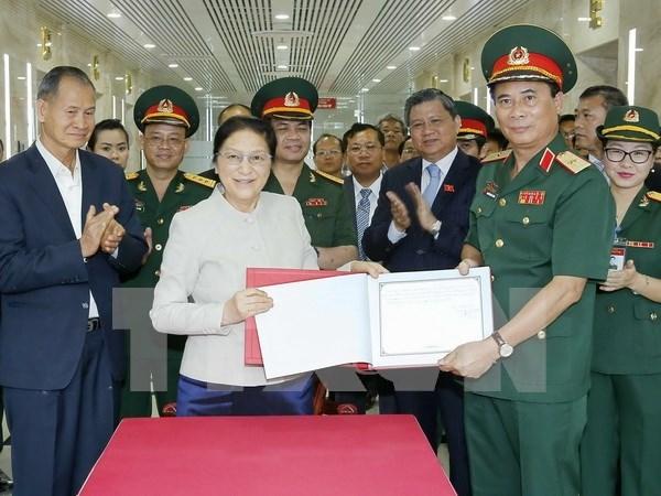 Buscan consolidar lazos multisectoriales entre provincias de Vietnam y Laos hinh anh 1