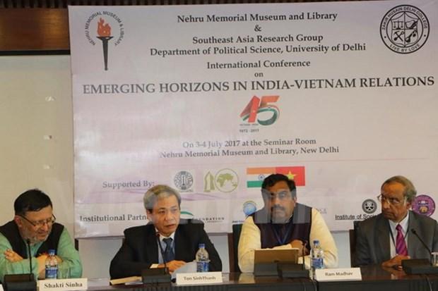 Buscan Vietnam e India impulsar relaciones multifaceticas hinh anh 1