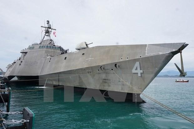 Armadas de Vietnam y Estados Unidos realizan programa de intercambio hinh anh 1
