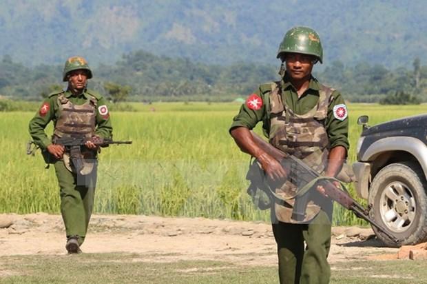 Myanmar despliega fuerzas de seguridad en estado de Rakhine hinh anh 1