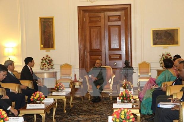 Vietnam ratifica voluntad de impulsar cooperacion con India hinh anh 1