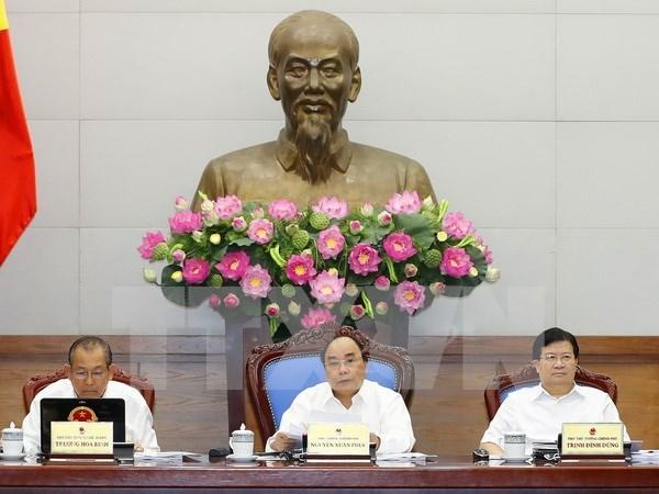 Gobierno vietnamita revisa documentos juridicos hinh anh 1