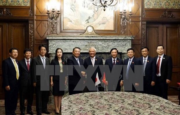 Organos legislativos de Vietnam y Japon fortalecen cooperacion hinh anh 1