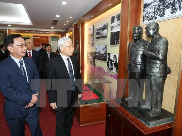 General Nguyen Chi Thanh, heroico revolucionario y brillante ejemplo moral de Vietnam hinh anh 1