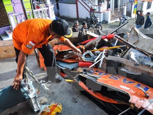 Confirman muerte de cinco personas en accidente aereo en el este de Indonesia hinh anh 1