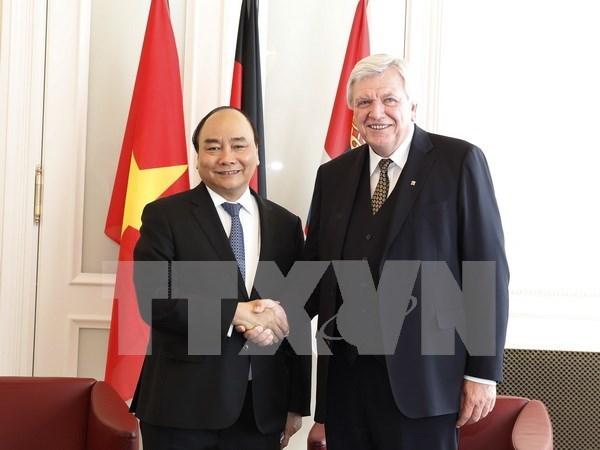 Asociacion estrategica Vietnam- Alemania avanza en todos los niveles y sectores hinh anh 1