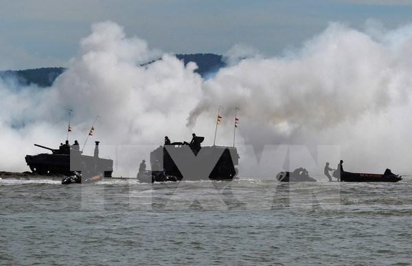 Indonesia y EE.UU. realizan ejercicio conjunto para elevar capacidad combativa hinh anh 1