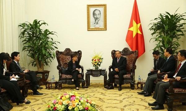 Singapur y Vietnam buscan reforzar cooperacion en sectores prioritarios hinh anh 1