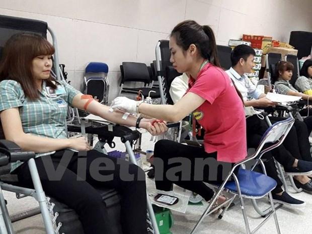 Provincia vietnamita de Long An responde a movimiento de donacion de sangre hinh anh 1