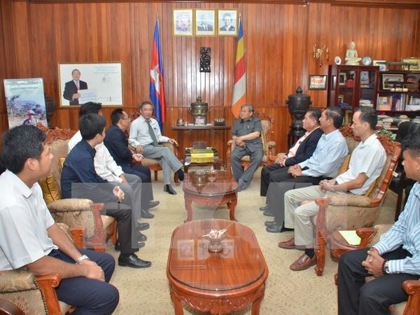 Camboya y Vietnam mejoraran cooperacion informativa hinh anh 1