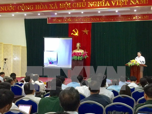 Divulgan borrador de conclusion de inspeccion sobre gestion de terreno en comuna de Dong Tam hinh anh 1