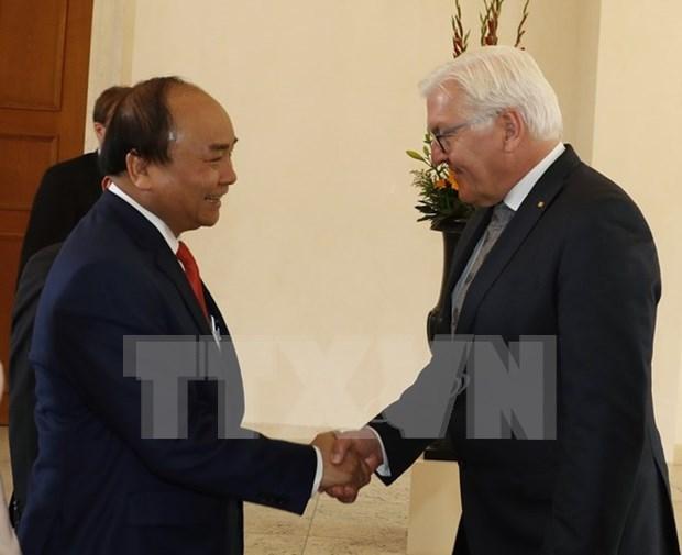 Alemania concede importancia a cooperacion con Vietnam hinh anh 1