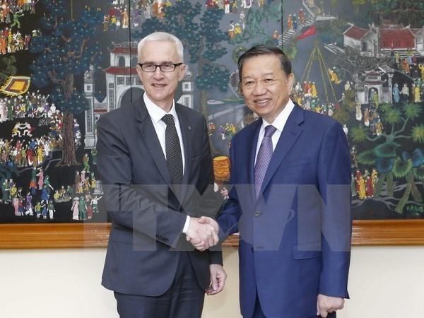 Vietnam dispuesto para participar en operaciones de Interpol contra la criminalidad hinh anh 1