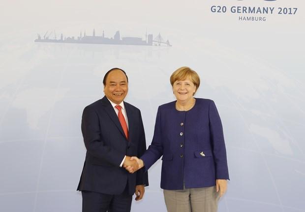 Premier vietnamita llama a mas inversiones de Pymes alemanas hinh anh 1