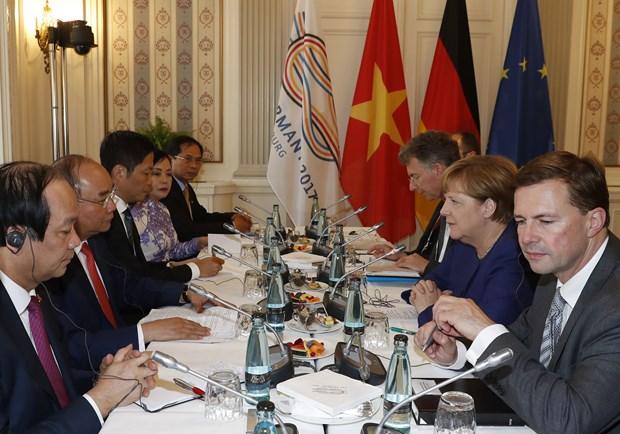 Premier vietnamita llama a mas inversiones de Pymes alemanas hinh anh 2