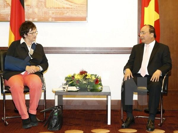 Vietnam y Alemania buscan medidas para mejorar cooperacion economica hinh anh 1