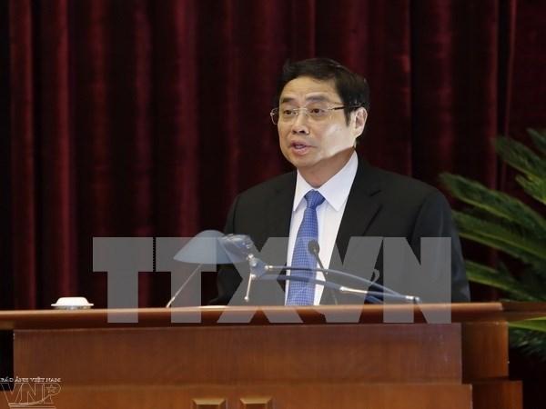 Diplomaticos vietnamitas por el fortalecimiento de los nexos entre el pais y el mundo hinh anh 1