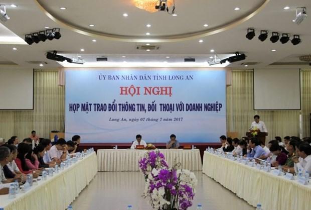 Provincia survietnamita e inversores taiwaneses intercambian informacion hinh anh 1