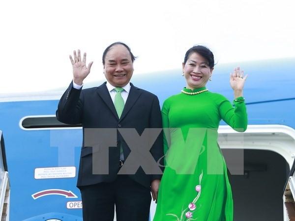 Premier vietnamita inicia visita a Paises Bajos hinh anh 1