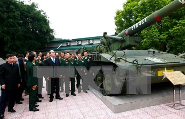 Museo de Historia Militar, una muestra de la milenaria defensa patriotica de Vietnam hinh anh 1