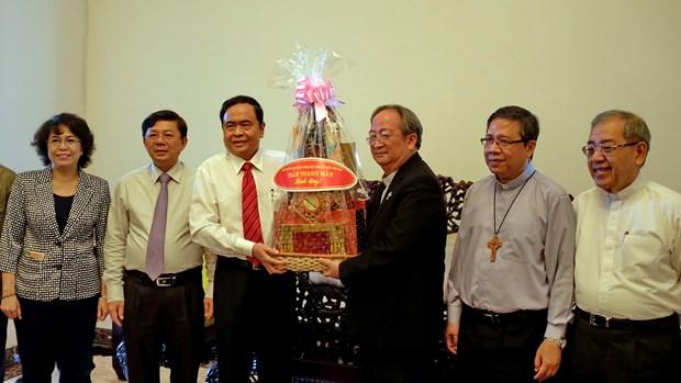 Destacan papel importante de comunidad religiosa al desarrollo de Vietnam hinh anh 1
