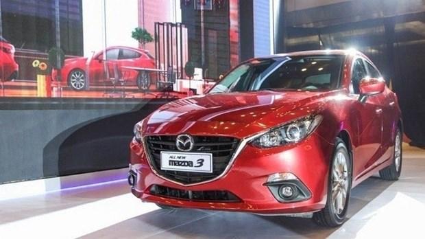 Retiro de Mazda por fallo de freno de mano no afecta a mercado de Vietnam hinh anh 1