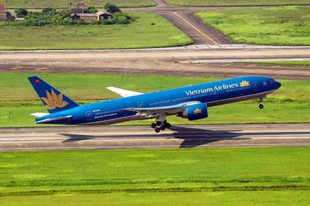 Vietnam Airlines transporto a mas 10 millones viajeros en primeros seis meses de 2017 hinh anh 1