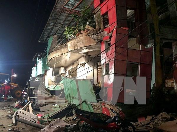 Terremoto de gran magnitud estremece la region central de Filipinas hinh anh 1
