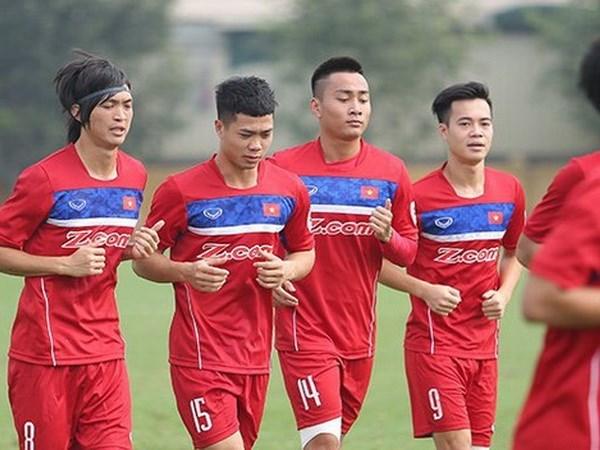 Vietnam enfrentara al campeon Tailandia en futbol masculino de SEA Games 2017 hinh anh 1