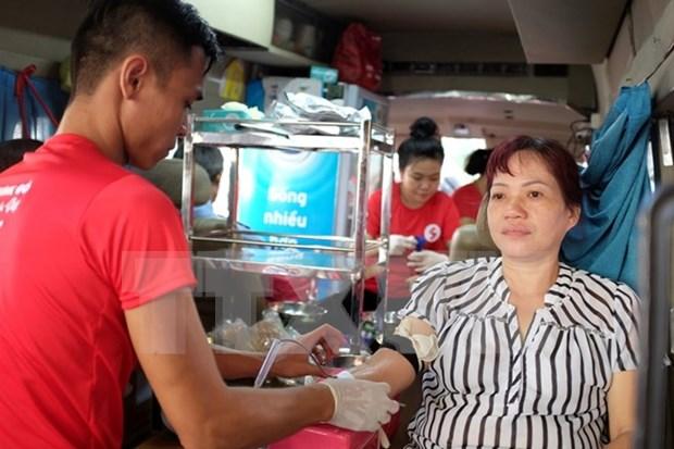 Vietnam espera obtener 45 mil unidades de sangre en campana de donacion hinh anh 1